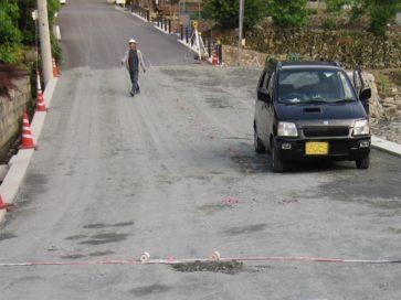 道路改良工事 (市道桧倉線)